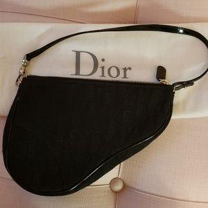 Dior monogram black 100% Authentic